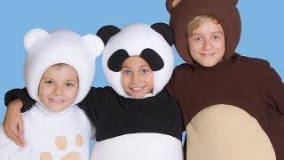 💥Дружба - Три Медведя 🌺 Песня Про дружбу для детей...