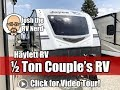 2018 Jayco 27RB White Hawk Ultralite Half Ton Towable Couple's Travel Trailer with Outside Kitchen