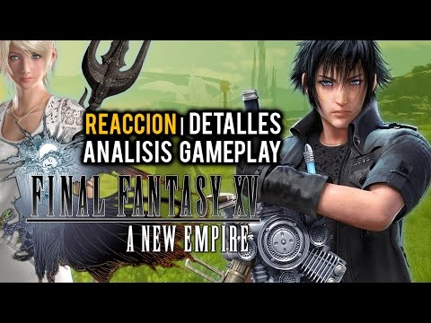 FINAL FANTASY XV: A NEW EMPIRE, ¿con LIGHTNING? | Reacción y Análisis Gameplay del MMO (iOS/Android)