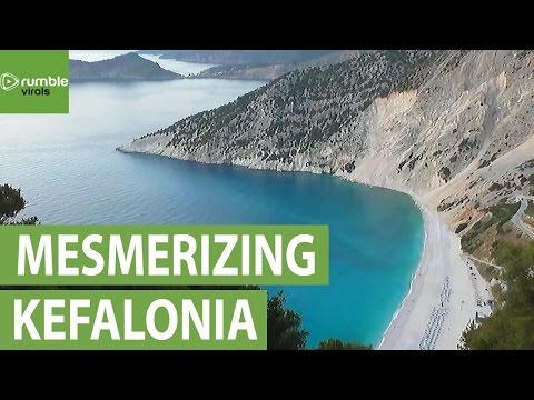 Breathtaking sights of Greek island Kefalonia