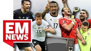 Wales im Halbfinale - Das Netz feiert - EM-News