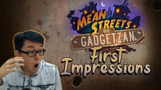 [Hearthstone] Mean Streets of Gadgetzan First Impressions