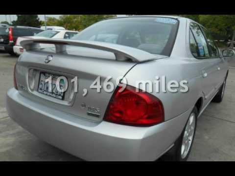 2006 Nissan Sentra 1.8 * Sporty Gas Saver w.Rear Spoiler * Low Miles for sale in SACRAMENTO, CA