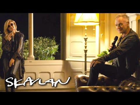 Sting and Melody Gardot perform «Little Something» | SVT/TV 2/Skavlan