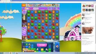 Candy Crush Saga Facebook DREAMWORLD Level 665 NO BOOSTERS ! ! !