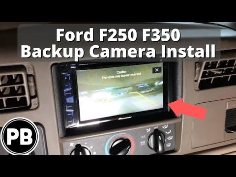 1998  2004 Ford F250  F350 Backup Reverse Camera Install  YouTube