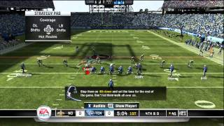 Madden NFL 11 - Saints at Titans - Part 1 of 3