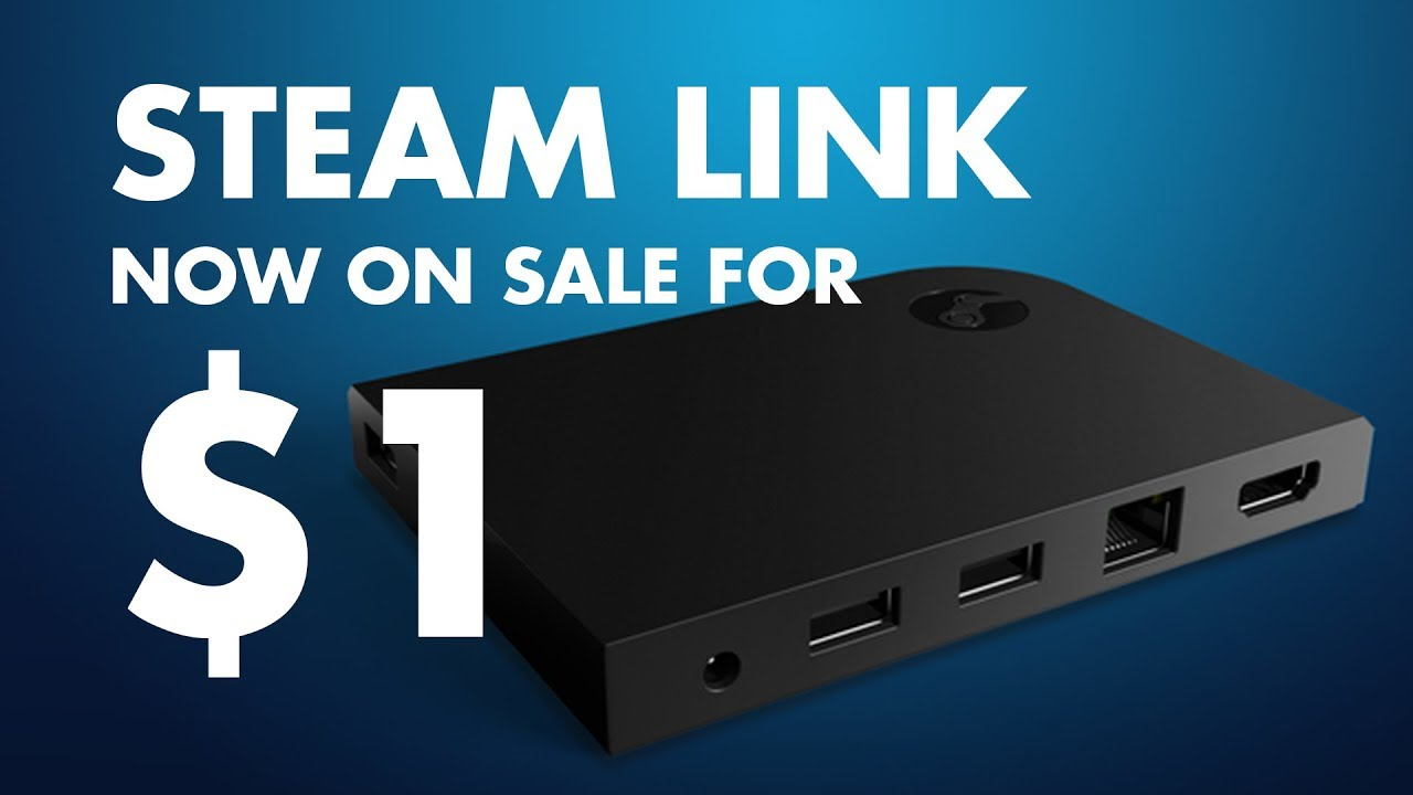 The STEAM LINK IS ON SALE FOR 80p? ?!?! - YouTube on