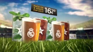 Consigue con MARCA los vasos oficiales del Real Madrid