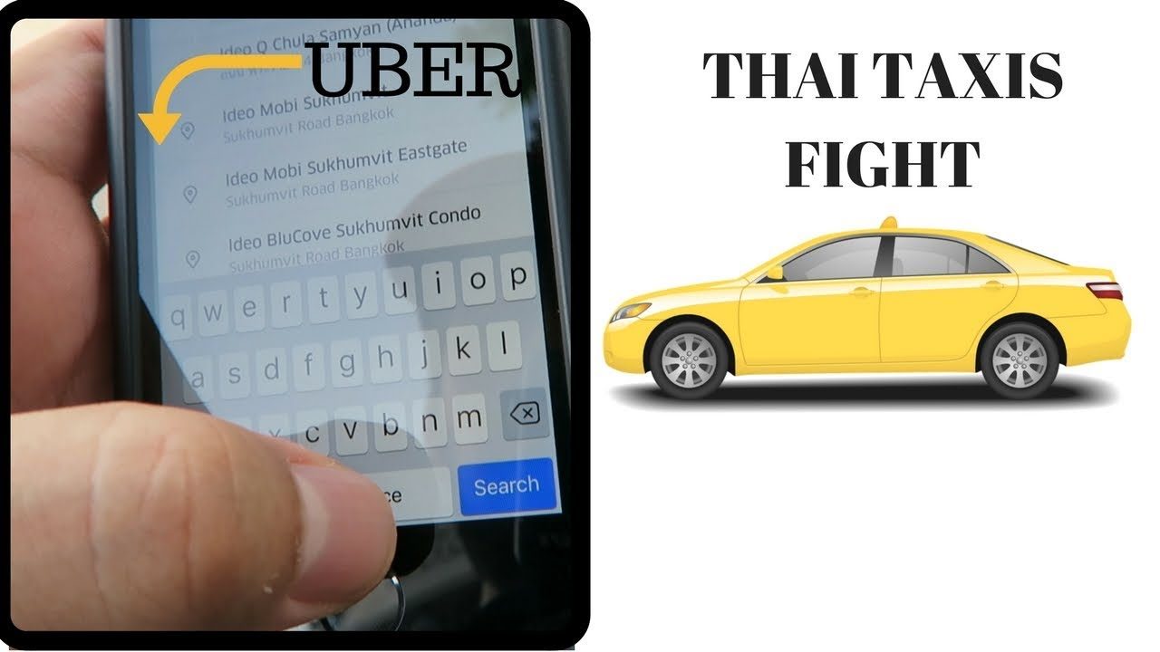 Uber vs Taxis in Thailand