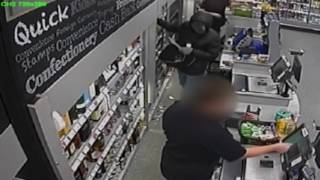 Armed robber jailed for seven years after raiding a Derby supermarket at knifepoint.