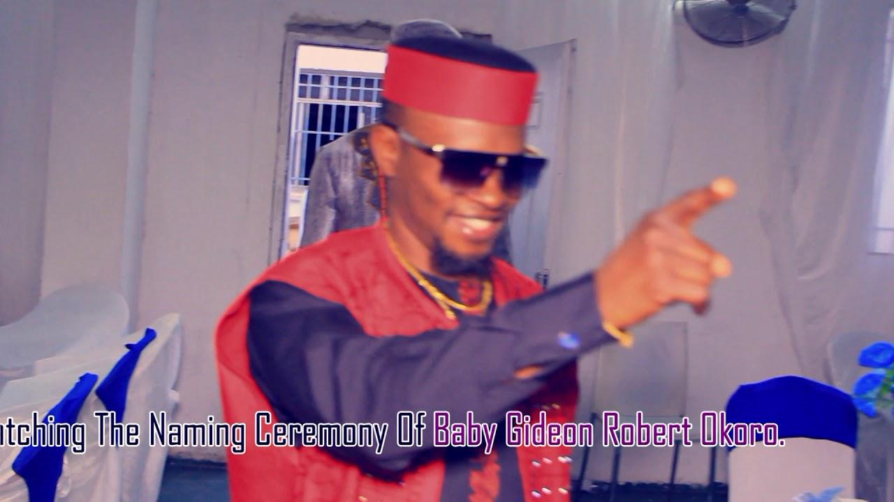 The Niming Ceremony of Gideon RObert Okoro - bright o tv