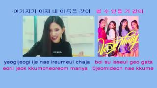 Seulgi 슬기 SinB 신비 Chungha & Soyeon – Wow Thing – instrumental