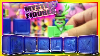 ROBLOX GOLD CELEBRITY SERIES 2 TOYS MYSTERY FIGURES UNBOXING JAZWARES