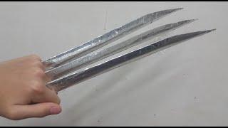 종이로 울버린 클로 만들기 // How To Make A Wolverine Claws With Paper