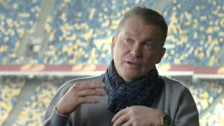 Блохин, Сабо и Шевченко вспоминают Валерия Лобановского