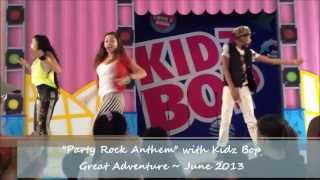 Kidz Bop performs Party Rock Anthem at Great Adventure
