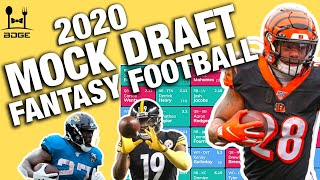 2020 Live Fantasy Football Mock Draft