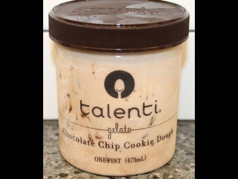 Talenti Gelato: Chocolate Chip Cookie Dough Review