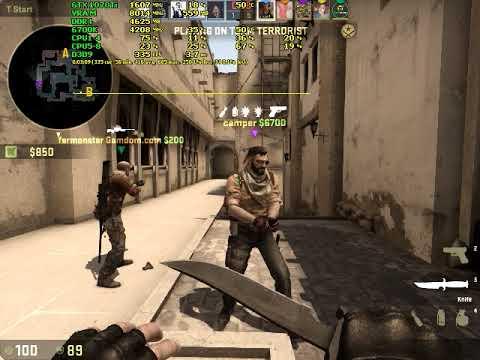 CS:GO - MG2 - Gameplay FPS TEST - GTX 1070 Ti + i7-6700k 640x480 Low