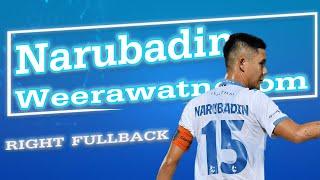 นฤบดินทร์ วีรวัฒโนดม skill defender 2021 - แบ็กขวาสายสปีด Buriram United