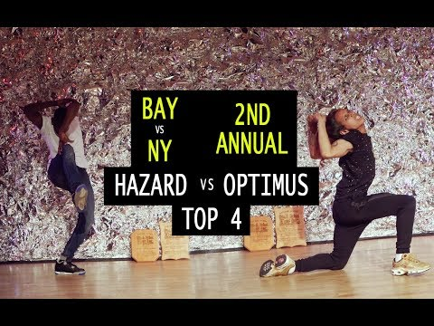 Hazard (NY) vs Optimus (NY) | TURFinc | BAY VS NY | 2nd Annual | Top 4 Dance Battle Tournament