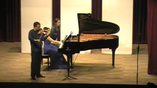 Violin Sonata No.1 in G Major, Op.78 - Johannes Brahms