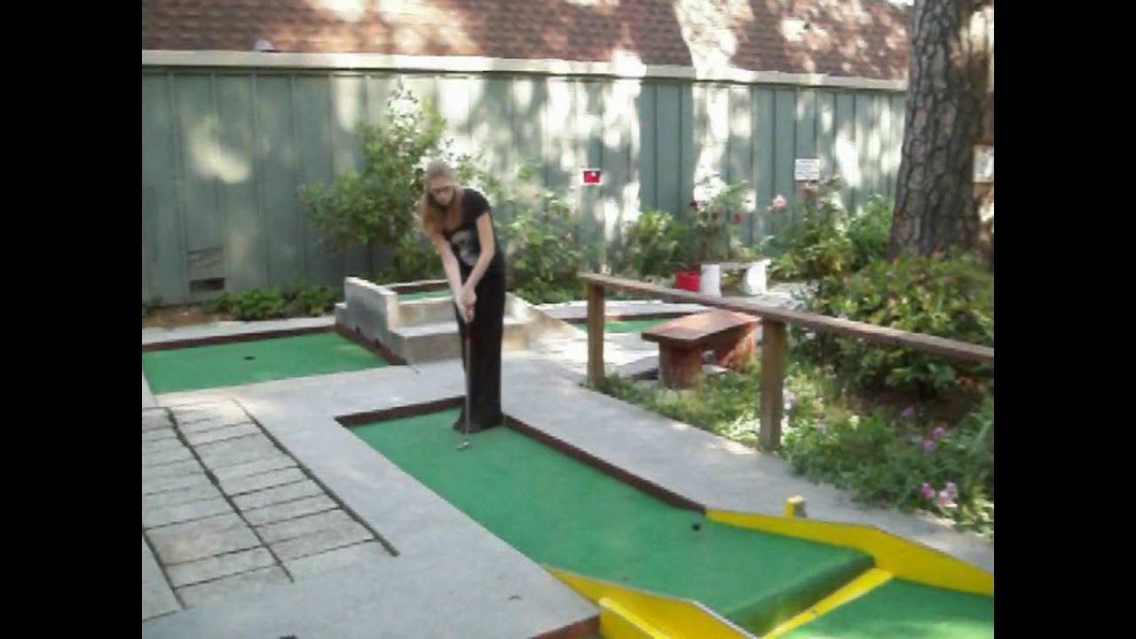 miniature golf with renee youtube
