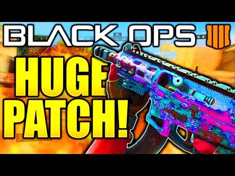 BO4 MULTIPLAYER UPDATES! MARCH 26th COD BLACK OPS 4 PATCH, BO4 BAREBONES, INFECTED + MORE!