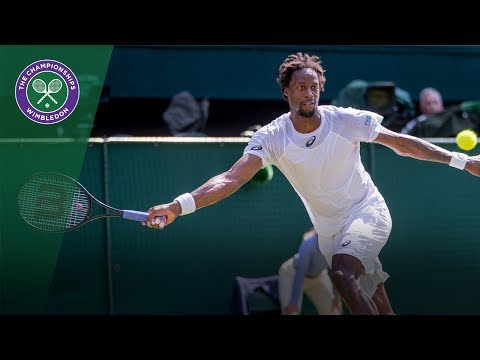 Gaël Monfils v Kyle Edmund highlights - Wimbledon 2017 second round
