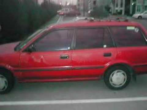 1992 Toyota Corolla DX Station Wagon-SOLD! for $355
