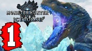 Monster Hunter World: ICEBORNE Gameplay Walkthrough Part 1 Lets Play Playthrough - Demo PS4 XBOX PC
