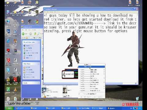 Free download resident evil 4 trainer for pc