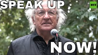 'All of us are in danger': John Pilger delivers  warning from Julian Assange READ MORE: on.rt.com/a0zd Journalist John Pilger has delivered a stark warning from WikiLeaks co-founder Julian Assange, who said that his ..., From YouTubeVideos