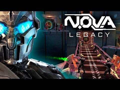 N.O.V.A Legacy - Trailer De Gameplay (Legendado Em Português)