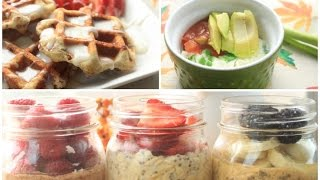 5 Quick & Easy Fall Breakfast
