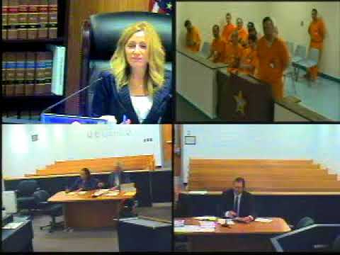 Judge Ruppe First Appearance May 16, 2018