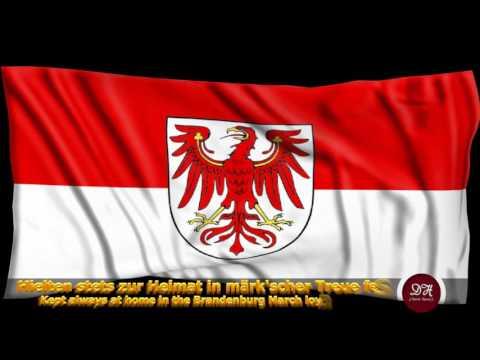Landeshymne Brandenburg - Anthem of federal state Brandenburg