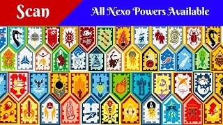 Lego Nexo Powers shields scan/Лего Нексо рыцари, сканирование щитов
