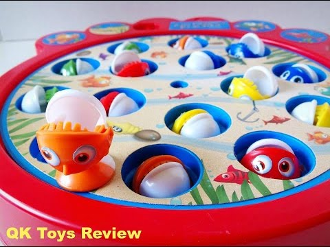 Lets Go Fishin Game, Fishing Game For Kids, Gone Fishin Game(QK TOYS REVIEW)