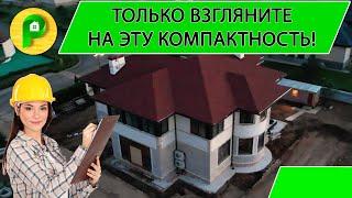 Строительство загородного двухэтажного дома, в современном стиле, под ключ | РЕМСТРОЙСЕРВИС