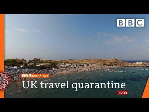 Variations in quarantine rules 'confusing', Shapps | Watch @BBC News live on iPlayer - BBC