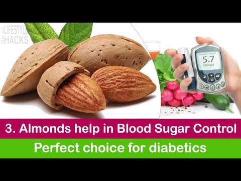 5 Real Benefits Of Almonds Everyday | Almond Helpful In Diabetes | Almonds Useful In Blood Pressure
