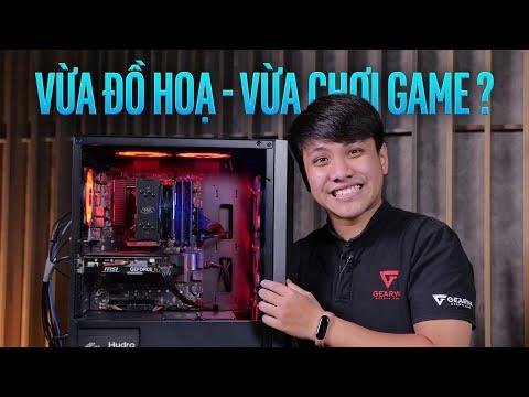 Review PC vừa làm đồ họa vừa chơi game   GVN G-Station K302