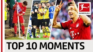 Thrilling Title Race, Jovic's 99th-Minute Penalty & The Revierderby - Top 10 Moments April
