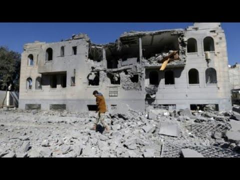 عشرات الجرحى والقتلى في غارات ليلية للتحالف على اليمن  - نشر قبل 34 دقيقة