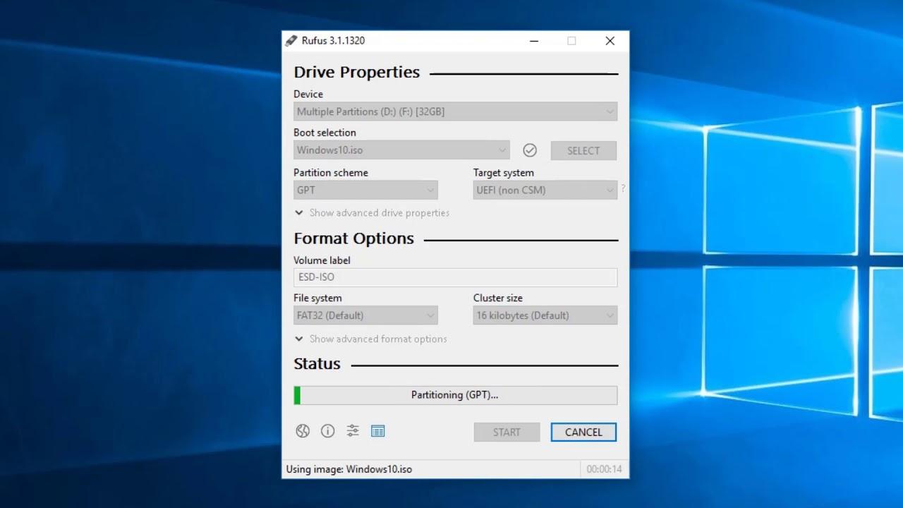 Hướng Dẫn Tạo USB Boot Windows 10  Đơn Giản Nhất