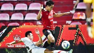 ไฮไลท์ฟุตบอลไทยลีก ระหว่างเอสซีจีเมืองทองฯ 0-1 ไทยฮอนด้า