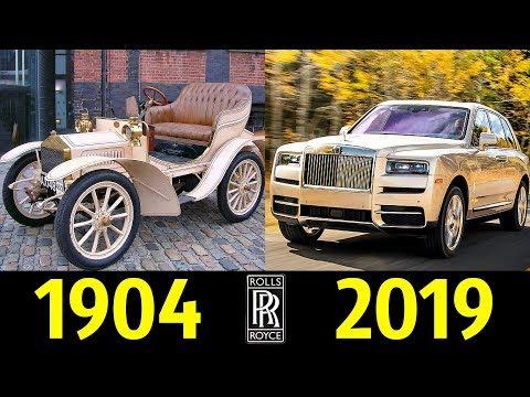Rolls Royce - Эволюция (1904 - 2019) ! История Марки !