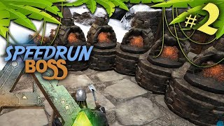 INSTALLATION DE NOTRE BASE - SPEEDRUN ARK Survival Evolved #2
